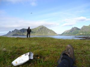 DLG flyving i Lofoten sommeren 2013